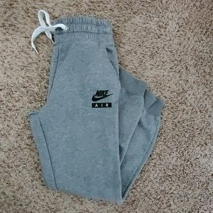 Nike womens Nike Air joggers size small